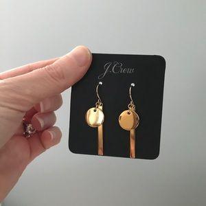 Jcrew gold earrings